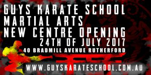 New karate centre