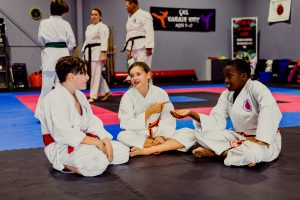 Childrens karate lessons